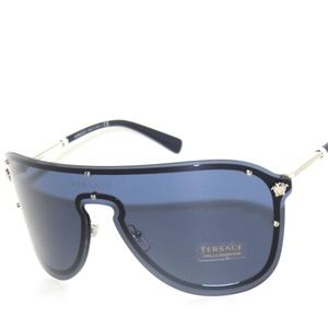 a2dab6721a VERSACE 2180 SILVER BLUE 1000 80 SUNGLASSES